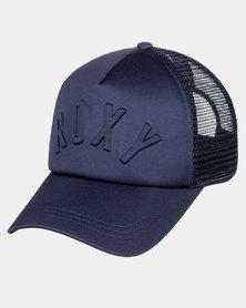 Roxy Truckin 3D Cap Blue
