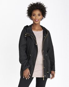 Contempo Parka Black