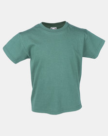 Fruit of the Loom Crew Neck Tee Bottle Green