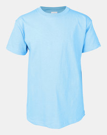 Fruit of the Loom Crew Neck Tee Azare Blue