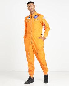 Alpha Industries NASA Vintage Jumpsuit Orange