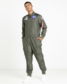 Alpha Industries NASA Vintage Jumpsuit Sage