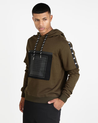 Alpha Industries Guardia Hoodie Green