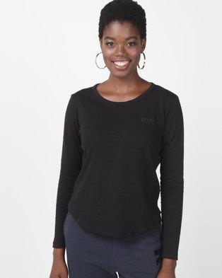 b680161f3ae Roxy Love Sun Long Sleeve T-Shirt Black