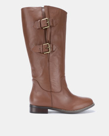 Julz ABIGAIL Leather Brown