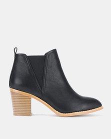 Julz BETTY Leather Black