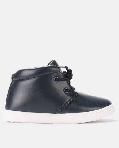 Klevas Grip Chuck PU Sneakers Navy