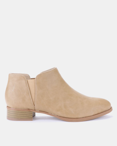 Jada Ankle Boots Stone