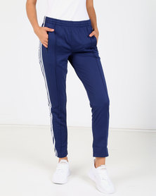 adidas Originals Ladies SS Tracksuit Pants Blue