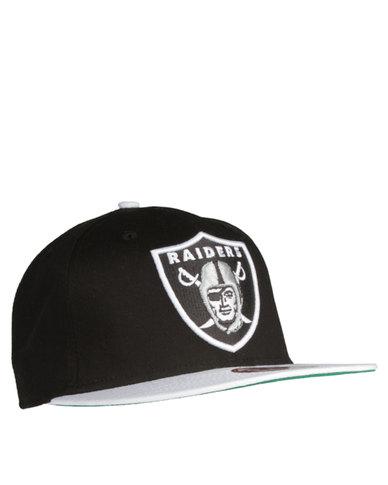 New Era Oakland Raiders Cap Black/White