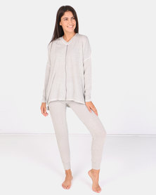 Lila Rose Petersham Tape PJ Ste Milk & Black