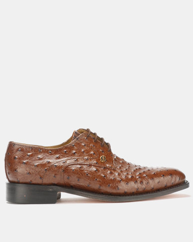 Crockett & Jones Goodyear Welted Lace Up Emu Brown