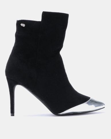 Miss Black Kirsten Ankle Boots Black