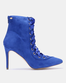 Miss Black Desiree Boots Blue