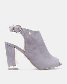 Miss Black Aimee Boots Grey