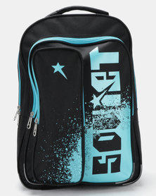 Soviet Cardinals Backpack Black/Turquoise