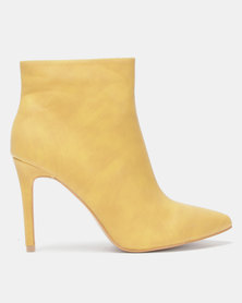 Jada Pointy Ankle Boot Mustard