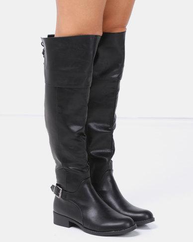 Jada Riding Boots Black