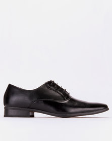Pierre Cardin Lace Up Black