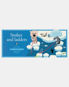 Djeco  Board Game-  Snakes and Ladders
