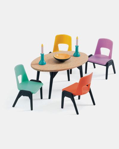 Djeco Doll House The Dining Room Playset | Zando