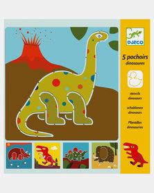 Djeco Stencils - Dinosaurs