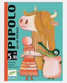 Djeco Card Games - Pipolo (Bluffing Game)