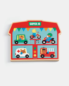 Djeco Sound Puzzles - Super Jo