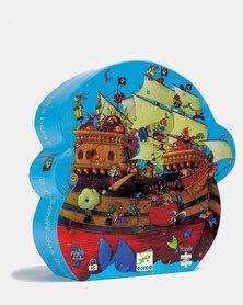 Djeco Silhouette Puzzles - Barbarossa's Boat