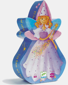 Djeco Silhouette Puzzles - The Fairy and the Unicorn