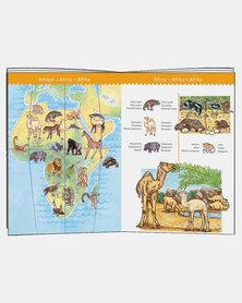 Djeco Puzzle - World's Animals + Booklet