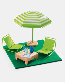Djeco Doll House The Terrace Playset