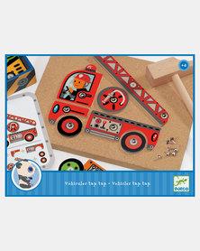 Djeco Tack Zap Hammering - Tap Tap Vehicles
