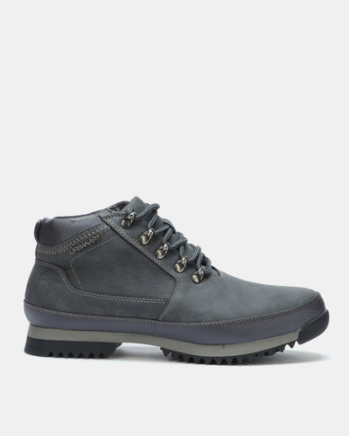 Urbanart  Crocco 1 Nub Boots Grey