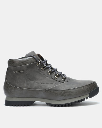 Urbanart Crocco 4 Wax SNA Boots Grey