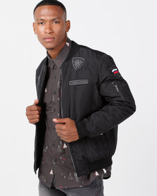 Soviet M Quito Bomber Jacket Black
