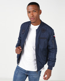 Soviet M Quito Bomber Jacket Twilight Blue