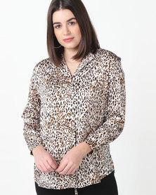 Tasha's Closet Bella Blouse Leopard