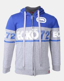 ECKO Boys Zip Thru Sweatshirt Grey