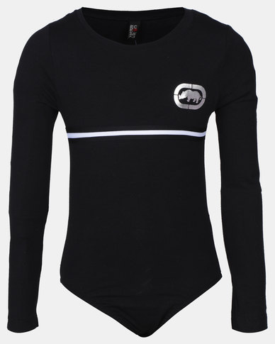 ECKÓ Unltd Girls Longsleeve Bodysuit Black