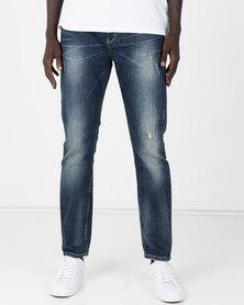 Lee Eddie Tapered Stretch Jeans