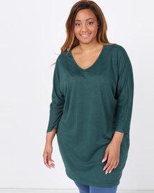 Utopia Plus Cut n Sew Tunic Emerald
