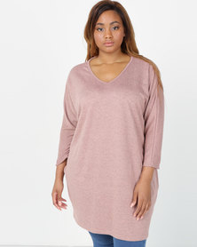 Utopia Plus Cut n Sew Tunic Misty Rose