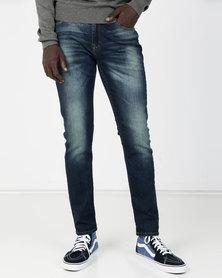 Lee Luke Slim Tapered Stretch Jeans