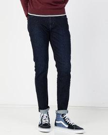 Lee Luke Slim Tapered Stretch Jeans Raven