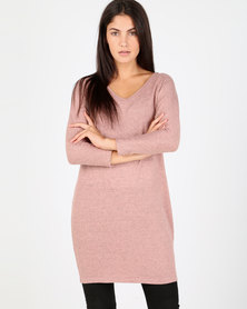 Utopia  Cut n Sew Tunic Misty Rose