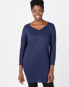 Utopia Cut n Sew Tunic Navy