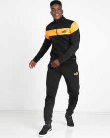 Puma Sportstyle Core Clean Tricot Suit CL Black/Yellow