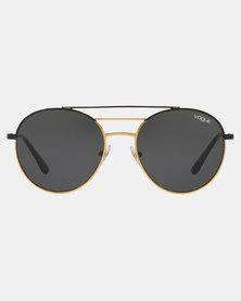 Vogue Phantos Sunglasses Black/Gold