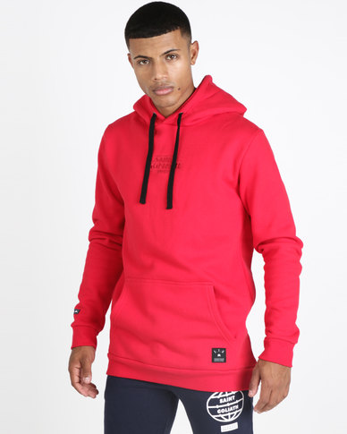 St Goliath Tenfold Hoodie Red